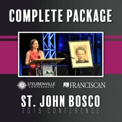 2019 St John Bosco Conference Complete Package Graphic