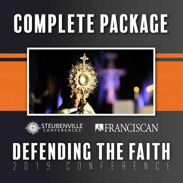 2019 Defending the Faith Conference Complete Package Graphic