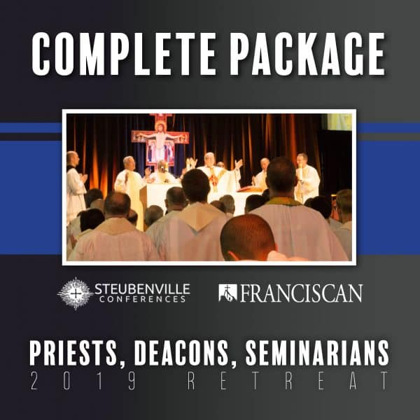 2019 Priests, Deacons, Seminarians Complete Package Graphic
